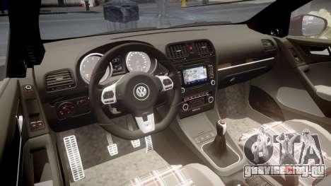 Volkswagen Golf Mk6 GTI rims2 для GTA 4 вид изнутри