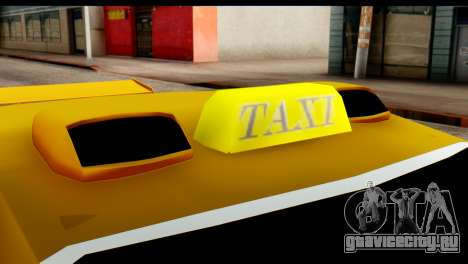 Peugeot 407 Sport Taxi для GTA San Andreas вид изнутри