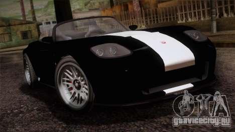 GTA 5 Invetero Coquette v2 IVF для GTA San Andreas вид сзади