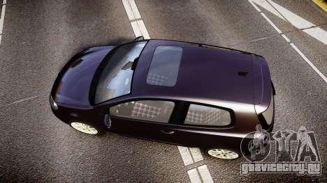 Volkswagen Golf Mk6 GTI rims2 для GTA 4 вид справа