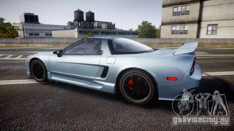 Honda NSX 1998 [EPM] для GTA 4 вид слева