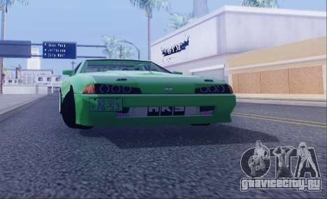 DGT.Elegy V.Final для GTA San Andreas вид слева