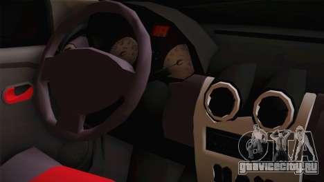 Dacia Logan Most Wanted Edition v3 для GTA San Andreas вид справа