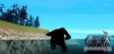 Ходьба по воде для GTA San Andreas третий скриншот