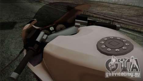 GTA 5 Bati Police для GTA San Andreas вид справа