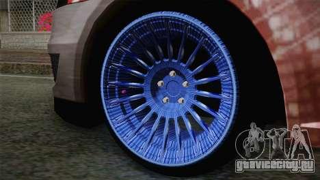Dacia Logan Most Wanted Edition v2 для GTA San Andreas вид сзади слева