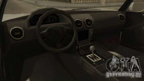 GTA 5 Coil Voltic v2 IVF для GTA San Andreas вид сзади