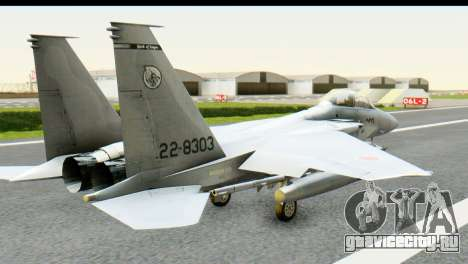F-15J Mitsubishi Heavy Industries для GTA San Andreas вид слева