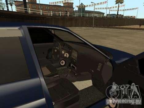 ВАЗ 2110 для GTA San Andreas вид справа
