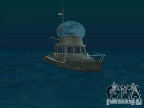 Reefer из GTA 3 для GTA San Andreas вид слева