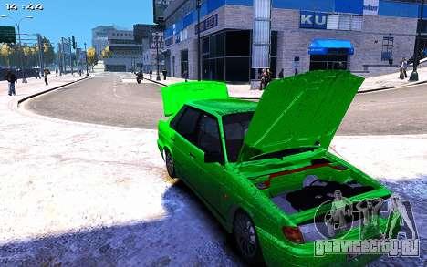 Lada 2115 для GTA 4 вид сзади