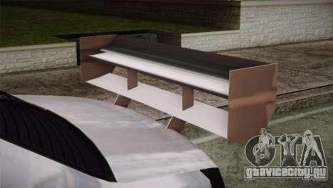 Dacia Logan Most Wanted Edition v2 для GTA San Andreas вид справа