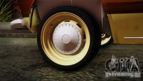 ВАЗ 21023 Пляжный для GTA San Andreas вид сзади слева
