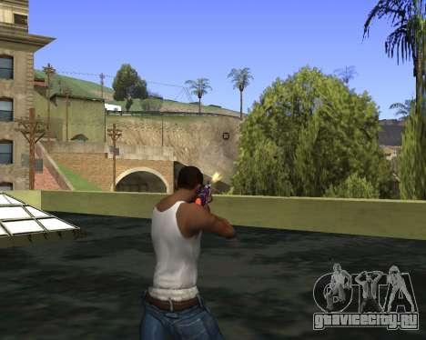 Skins Weapon pack CS:GO для GTA San Andreas шестой скриншот