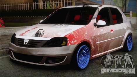 Dacia Logan Most Wanted Edition v2 для GTA San Andreas