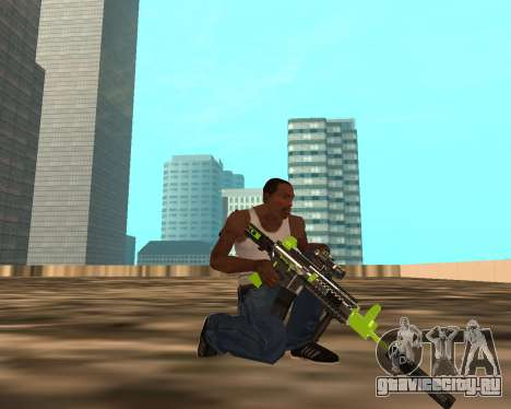 Sharks Weapon Pack для GTA San Andreas пятый скриншот