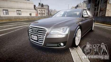 Audi A8 L 4.2 FSI quattro для GTA 4