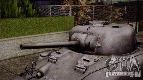 M4 Sherman для GTA San Andreas вид сзади