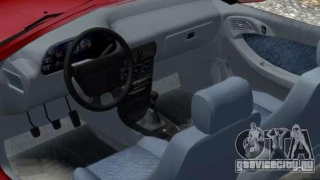 Daewoo Espero 2.0 CD 1996 для GTA 4 вид изнутри