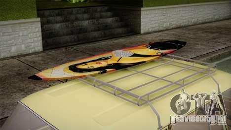 ВАЗ 21023 Пляжный для GTA San Andreas вид справа