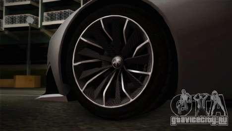 Peugeot Onyx для GTA San Andreas вид сзади слева