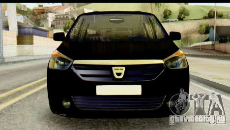 Dacia Lodgy для GTA San Andreas