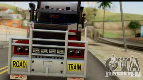 Mack Superliner 6x4 для GTA San Andreas вид сзади