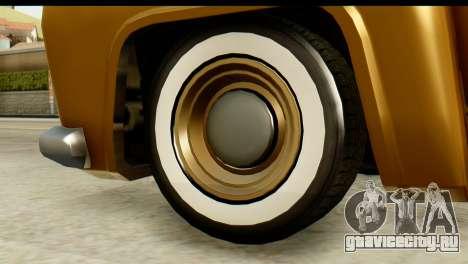 EFLC TLaD Vapid Slamvan для GTA San Andreas вид сзади слева