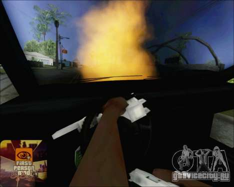 Езда на взорванном авто для GTA San Andreas третий скриншот