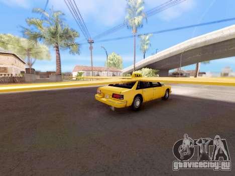 Крылатое такси для GTA San Andreas вид слева