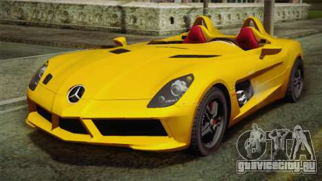 Mercedes-Benz SLR McLaren Stirling Moss для GTA San Andreas