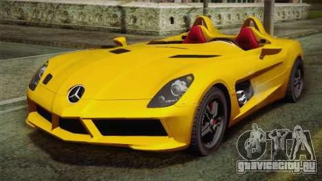 Mercedes-Benz SLR McLaren Stirling Moss для GTA San Andreas