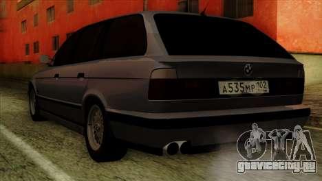BMW M5 E34 Touring для GTA San Andreas вид слева