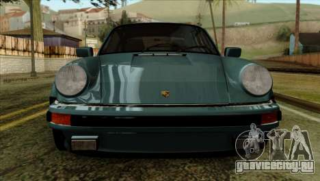 Porsche 911 Turbo 3.3 Coupe 930 1981 для GTA San Andreas вид сзади