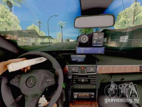 Mercedes-Benz E500 ДПС для GTA San Andreas вид справа