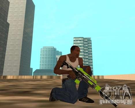 Sharks Weapon Pack для GTA San Andreas четвёртый скриншот