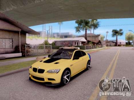 BMW M3 E92 для GTA San Andreas