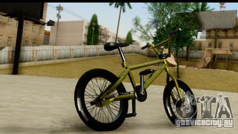 GTA 5 BMX для GTA San Andreas вид слева