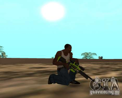 Sharks Weapon Pack для GTA San Andreas десятый скриншот