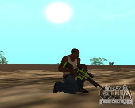 Sharks Weapon Pack для GTA San Andreas десятый скриншот