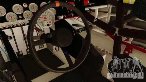 NASCAR Toyota Camry 2013 для GTA San Andreas вид справа
