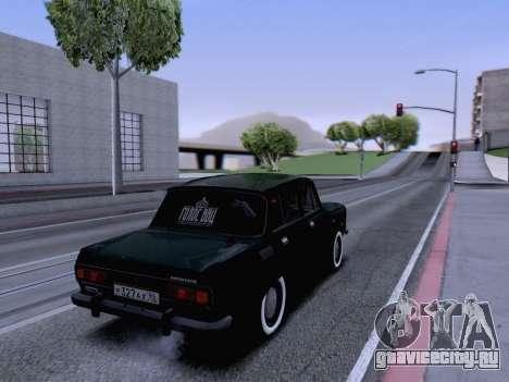 АЗЛК 2140 для GTA San Andreas вид сзади слева