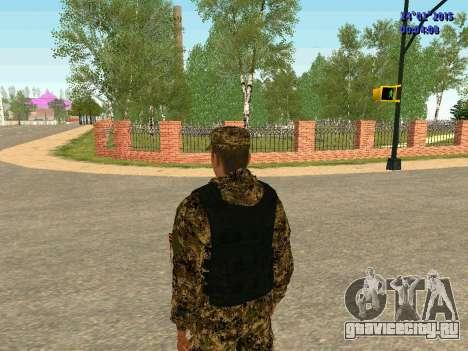 Стрелок ополчения ДНР для GTA San Andreas четвёртый скриншот