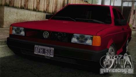 Volkswagen Senda для GTA San Andreas вид сзади