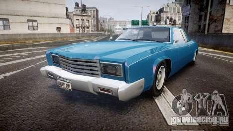 Albany Buccaneer San Andreas Style для GTA 4