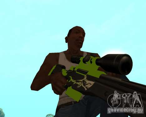 Sharks Weapon Pack для GTA San Andreas одинадцатый скриншот