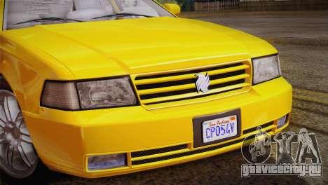 MP3 Fathom Lemanja LX для GTA San Andreas вид сзади