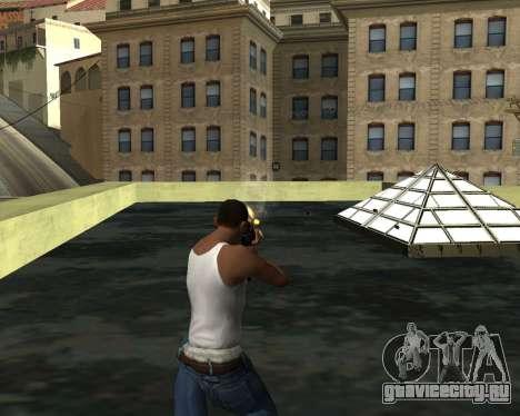 M4A1 Cross Fire для GTA San Andreas четвёртый скриншот