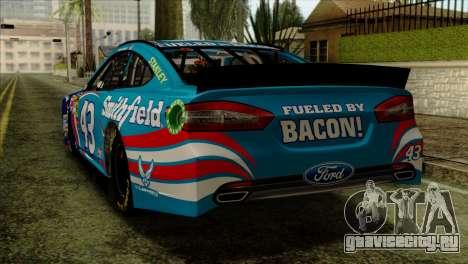 NASCAR Ford Fusion 2013 для GTA San Andreas вид слева