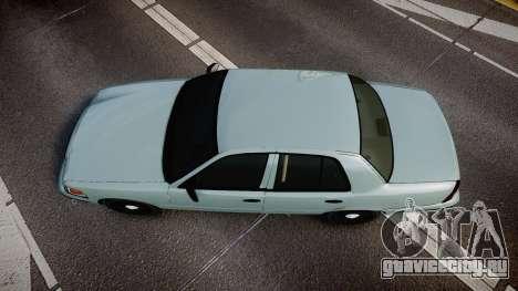 Ford Crown Victoria 2007 для GTA 4 вид справа